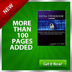 HIPAA  Deskbook
